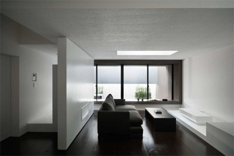 Gable House | CoolBoom #interior #white #design #black #architecture #minimal #and