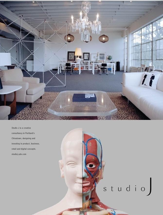 Studio J Advertising - Mr Miles Johnson #interior #j #design #portland #advertising #direction #studio #art #face #magazine #typography