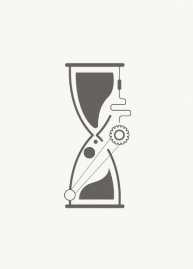 Leandro Castelao #illustrator #hourglass #shapes #leandro #minimal #castelao