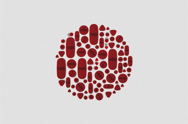 pills #pills #illustration #geometric