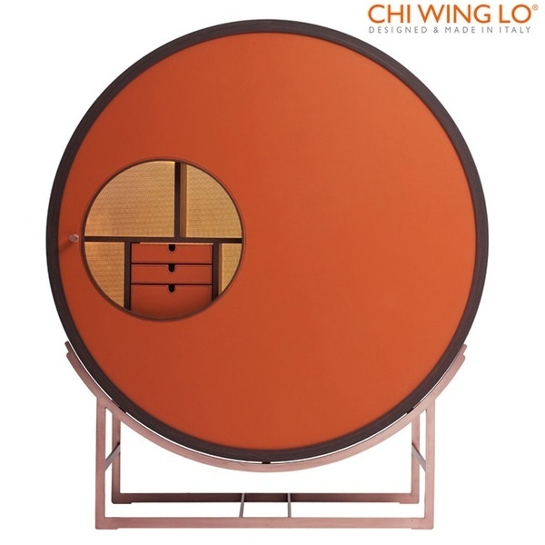 ONAR circular cabinet #design #furniture #cabinet