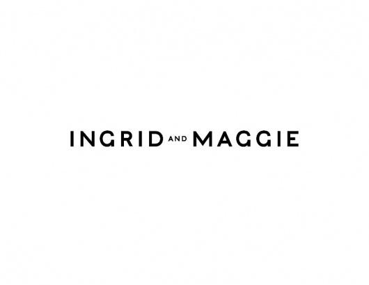 Ian Josephson #logotype #branding #ingridmaggie #design #graphic #ingrid #logo #maggie