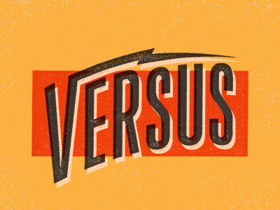 Versus_dribbble #typography