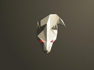 Low Poly Ninetales #triangulation #triangles