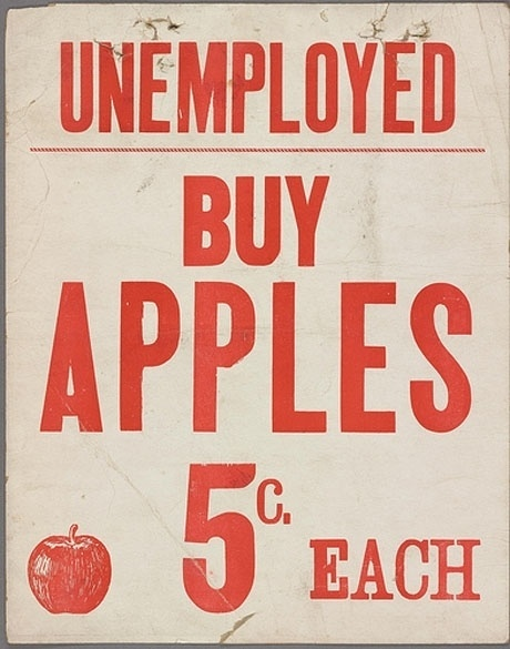 Lunch: An Urban Invention #apple #red #poster #signage #typography