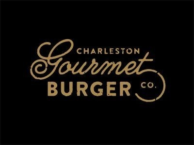 Charleston Gourmet Burger Co. #design #graphic #typography