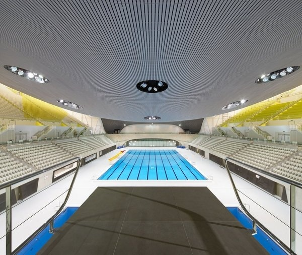 London Aquatics Centre - Architecture - Zaha Hadid Architects #pool #architecture #swim