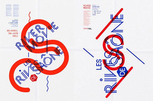 Type, Color, Paris, Parisian, Geometric