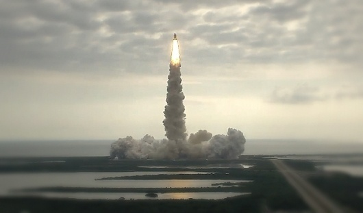 Endeavour STS-134 « Because I Can #photography #launch #space