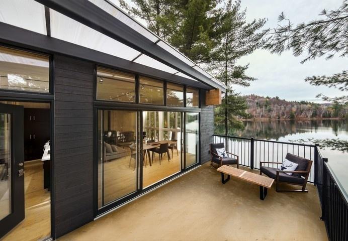Cross Laminated Timber Cottage #haus