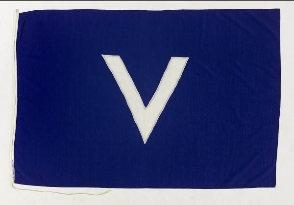 House flag, Societa Italiana Trasporti Marittimi - National Maritime Museum #flag