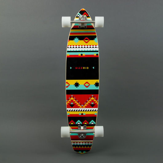 "THE DUDE / 38.75"" | Madrid Skateboards #pattern #ethno #madrid #africa #board #skate"