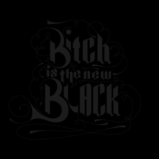 The Phraseology Project - I Love You #new #typography #design #is #the #black #phraseology #bitch