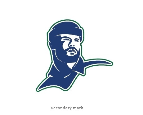 A Canucks Logo Concept | SAY NO TO THE WHALE #canucks #design #lumberjack #logo #hockey