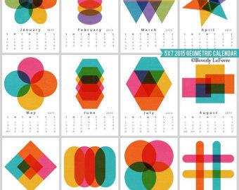 geometric design calendar - Google Search #geometric