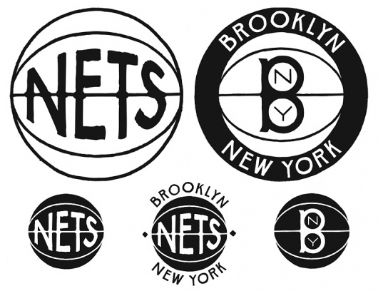 The Brooklyn Nets dropped the ball on their new logo | The Fox Is Black #mark #brooklyn #ball #seal #sports #logo #basketball