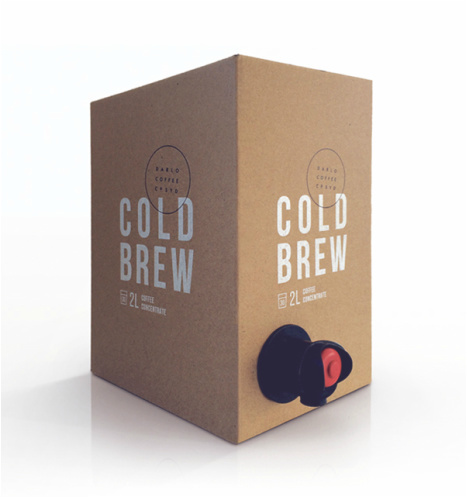 Darlo Cold Brew #coldbrew #coffee #packaging