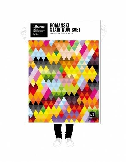 Liber ac   vbg.si - creative design studio #mosaic #colour #poster