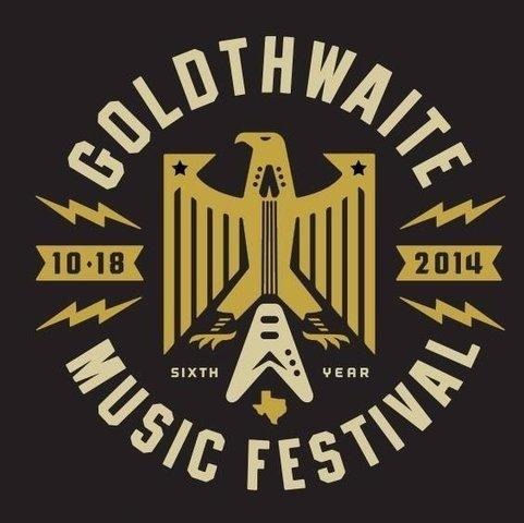 Goldthwaite Music Festival #music #logo #festival #fest