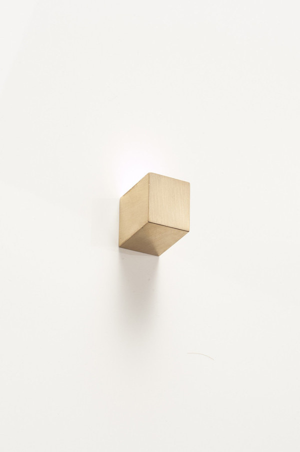 Square Brass Hook by Light + Ladder #minimalist #design