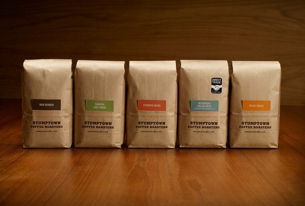 Stumptown Coffee / Packaging: Coffee Bags / The Official Manufacturing Company #coffee