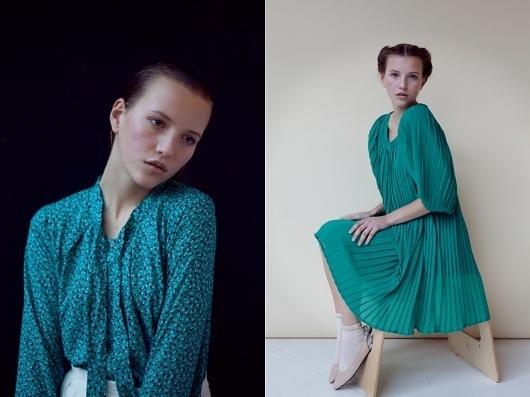 - anna b. : rené fietzek #fashion #model #girl