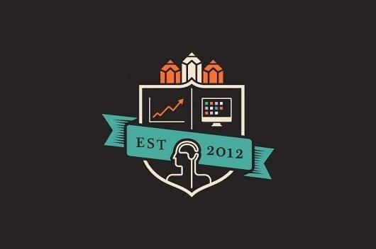 Sidekick School #2011 #icon #charcoal #crest #logo #lo