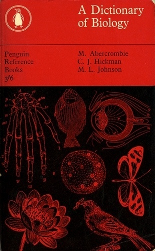 All sizes | A Dictionary of Biology | Flickr - Photo Sharing! #cover #design #book #biology