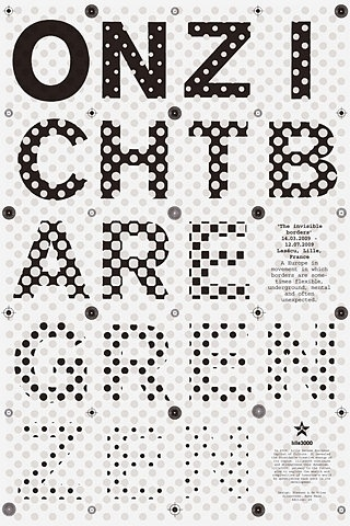 Typographic Poster | Shiro to Kuro #white #black #monochrome #poster #monochromatic #typography