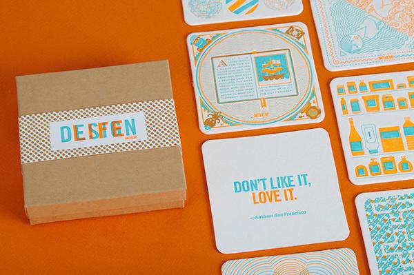 Anthem: Design/Life Lannan Design #anthem #print #design #letterpress