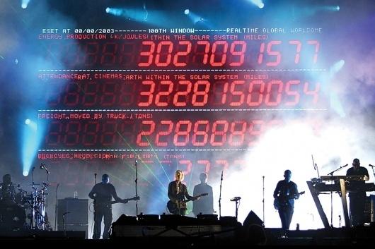 Massive Attack   United Visual Artists #performance #visual #system #united #attack #massive #artists #led #typography