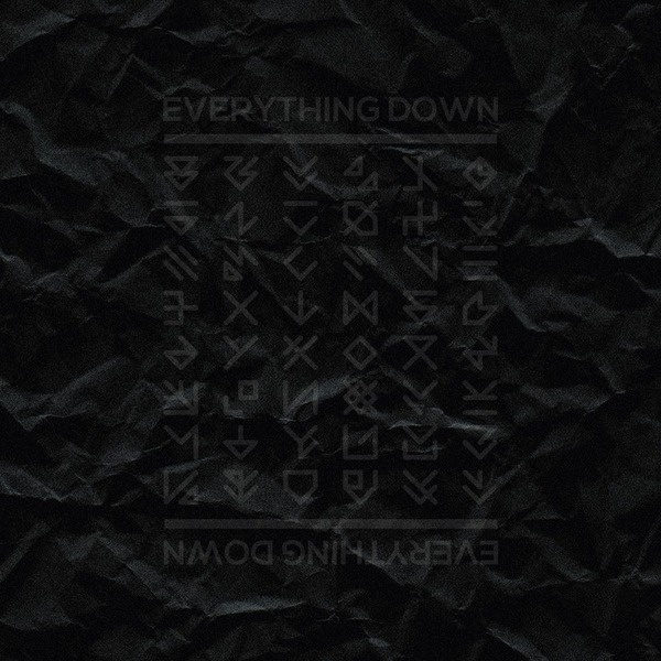 Everything Down #vector #down #experiments #print #black #dark #paper