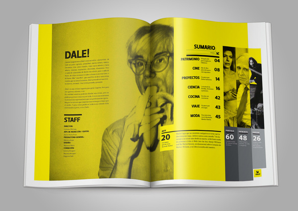 REVISTA DALE! on Behance #magazine