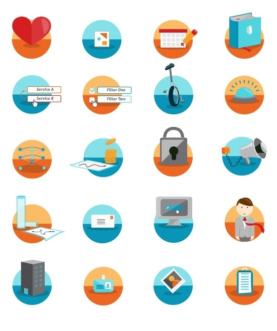 Business Pulse Illustration #icon #illustration #design #vector