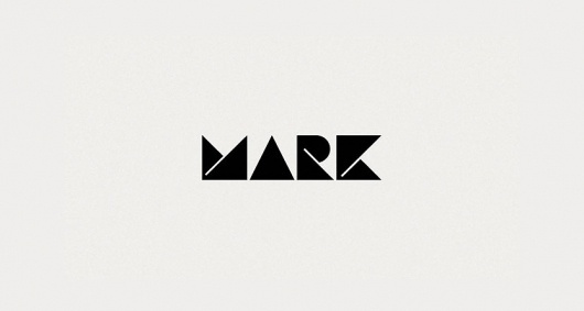 MARK Product | Branding Design | A-Side #logo #identity #branding