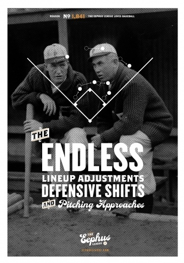 Shop « Eephus League #typography #poster #baseball