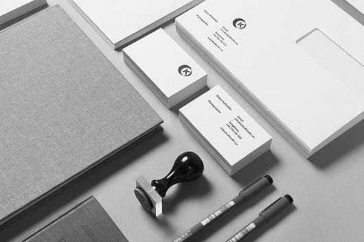 Oskar Kullander on the Behance Network #stationary #print #identity #branding
