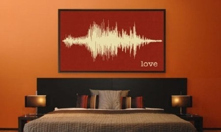 Make every sounds more memorable by turning them into art. Now, pictures are not the only unique things that you can get framed. #design #product #industrial #art #soundwave