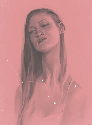 joanna_portrait1.jpg (JPEG Image, 600 × 814 pixels) #digital #illustration #graphic #art