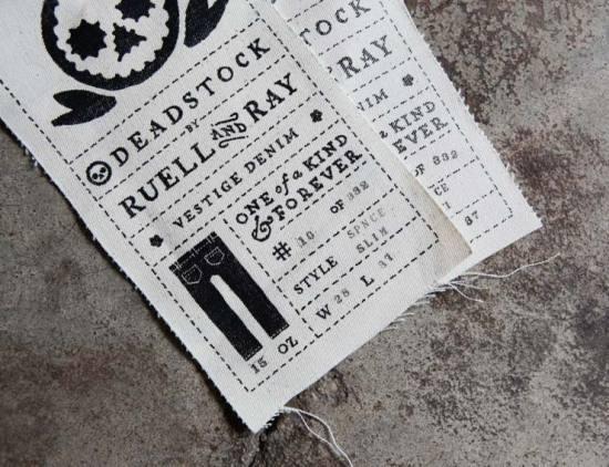Fuzzco: Deadstock #fuzzco #tag #typography