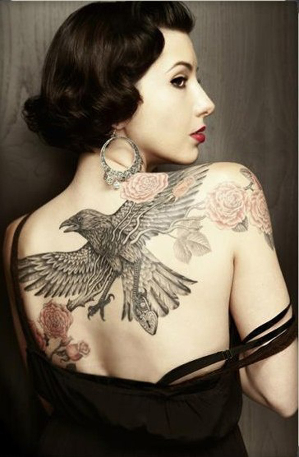 50 Awesome Back Tattoo Ideas #ideas #tattoo #back