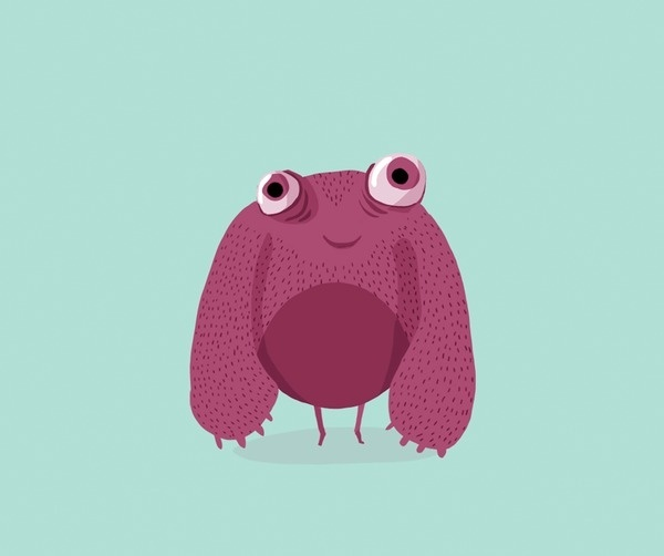 Image and video hosting by TinyPic #bancsabadell #monster #illustration #kids #children