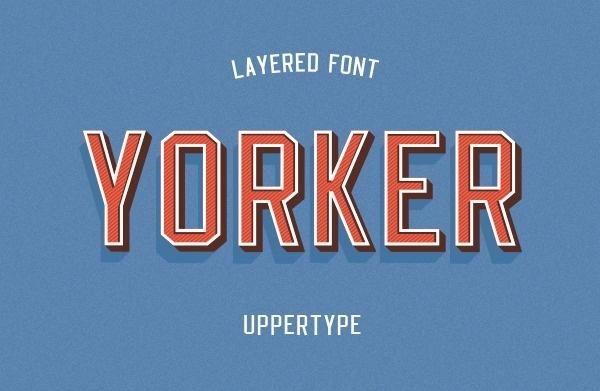Yorker font on Behance