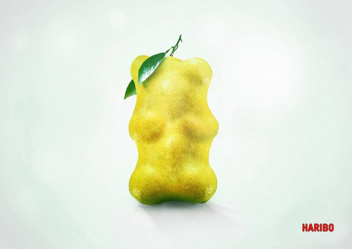 Haribo Fruity Bears Campaign #haribo