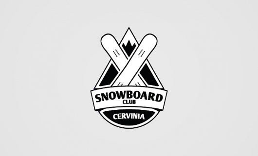 Francesco Vetica | Designer | Snowboard Club #logos #branding #corporate #brand #identity #snowboard #logo #club