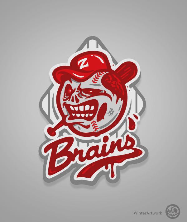 Zom Baseball on Behance #apparel #design #tshrit #illustration #character