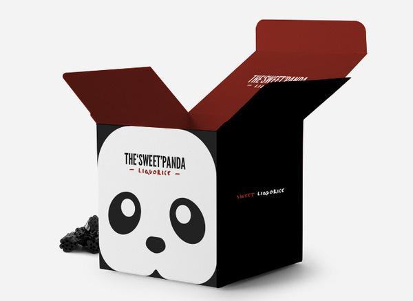 Panda Liquorice Faust #packaging