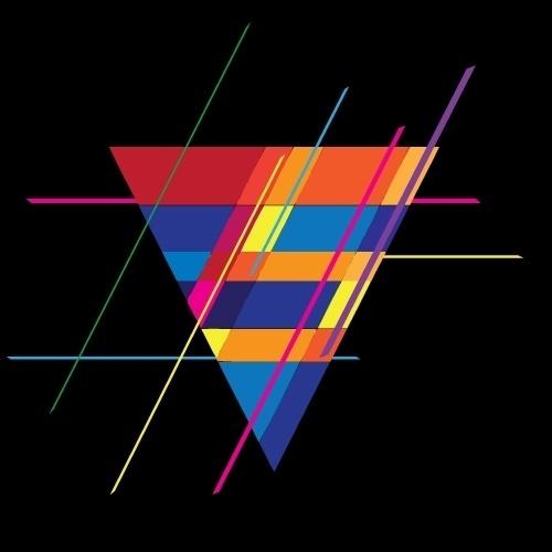 Spaceman Design #geometry #diamond #color #concept #art #logo
