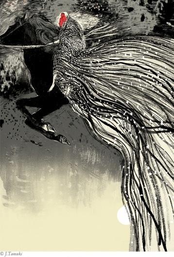 Irish Myths and Legends : Jillian Tamaki #tamaki #illustration #jillian