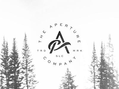"""The Aperture Co"" Monogram Process #logo"